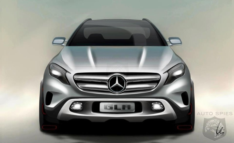 Mercedes-Benz GLA Images Revealed Ahead of Auto Shanghai