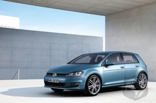 2013 Volkswagen Golf officially unveiled