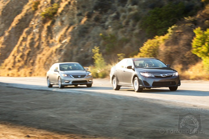 2013 Honda Accord vs. 2012 Toyota Camry Comparison Test
