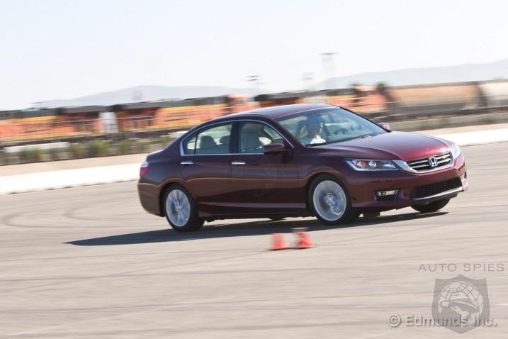 2013 Honda Accord EX L V6 Vs. 2013 Nissan Altima 3.5 SL Track Test