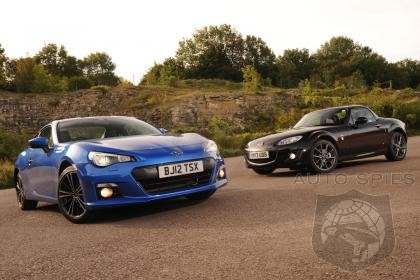 Subaru BRZ vs MX-5