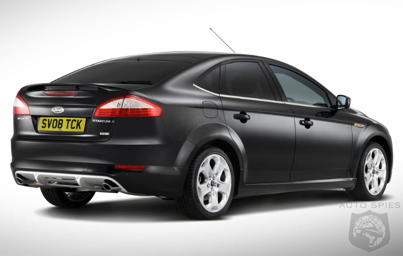 Ford Mondeo Titanium X Sport edition - AutoSpies Auto News