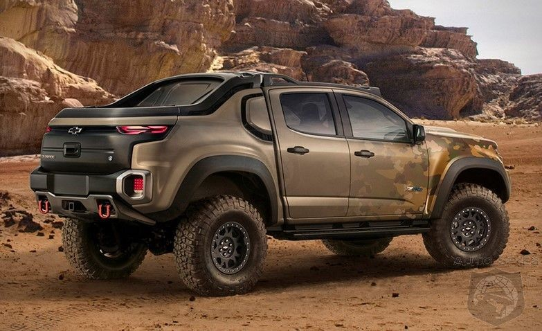 2017 Chevrolet Colorado ZH2 - Have you ever seen hydrogen truck?! Here is the latest Chevy's monster, updated news!