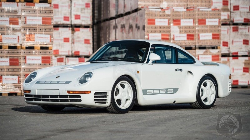 Porsche can now 3D-print hard-to-find parts for 959, 964, 365 models