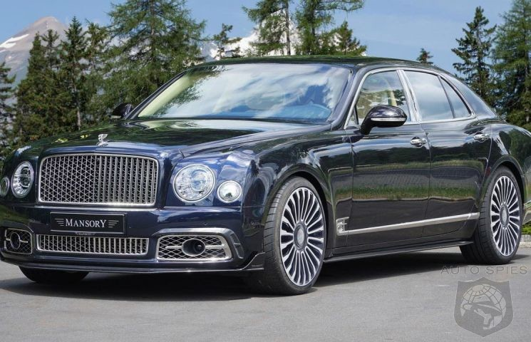 Mansory upgrades the Bentley Mulsanne