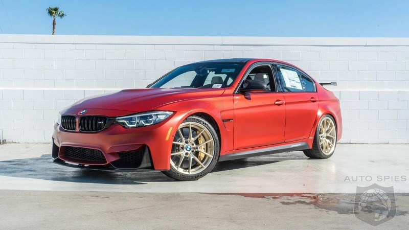 2018 BMW M3 30 years American Edition is up for grabs for $130,110 in Los Angeles