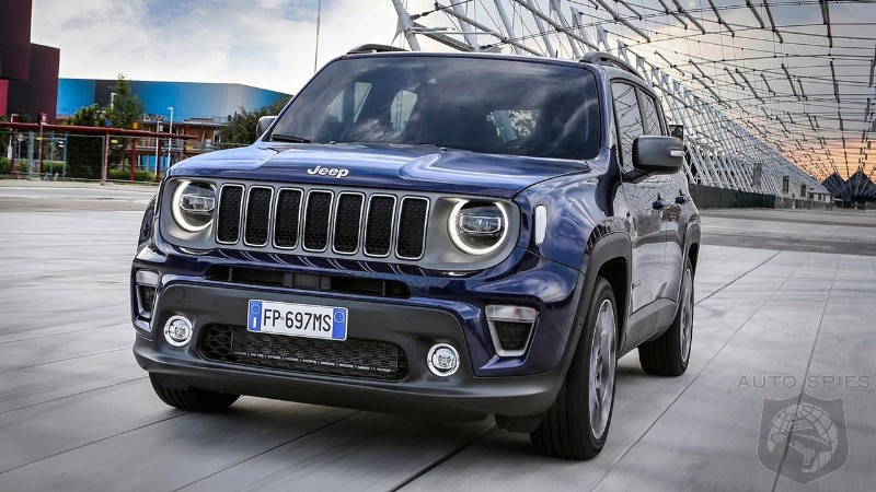 FCA confirms arrival of new Jeep Renegade PHEV in early 2020