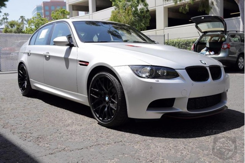 Are you ready to buy this BMW M3 CRT?