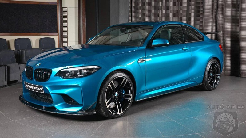 BMW M2 gets a 3D Design makeover with special carbon fiber accessories