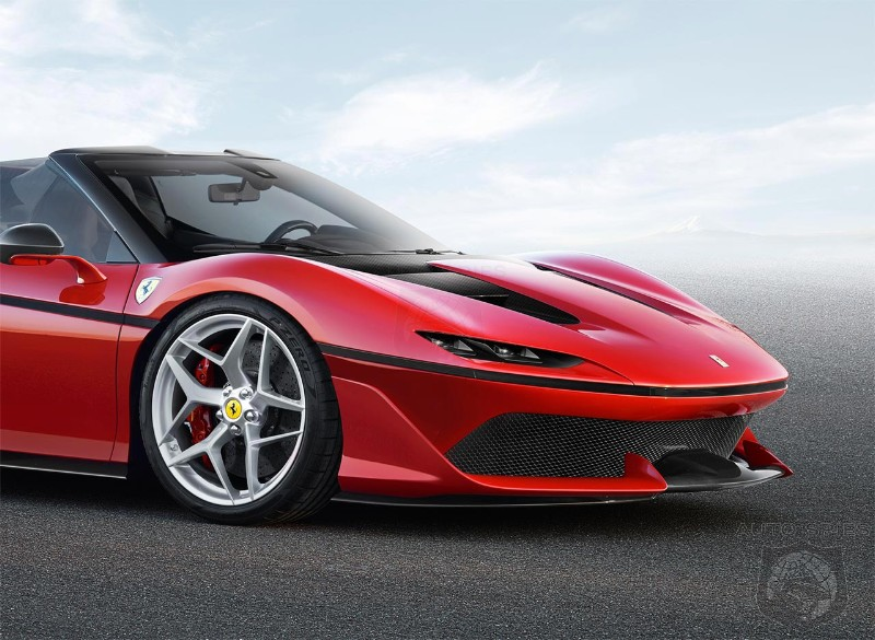 Ferrari J50 might be blueprint for brand\'s future design - AutoSpies ...