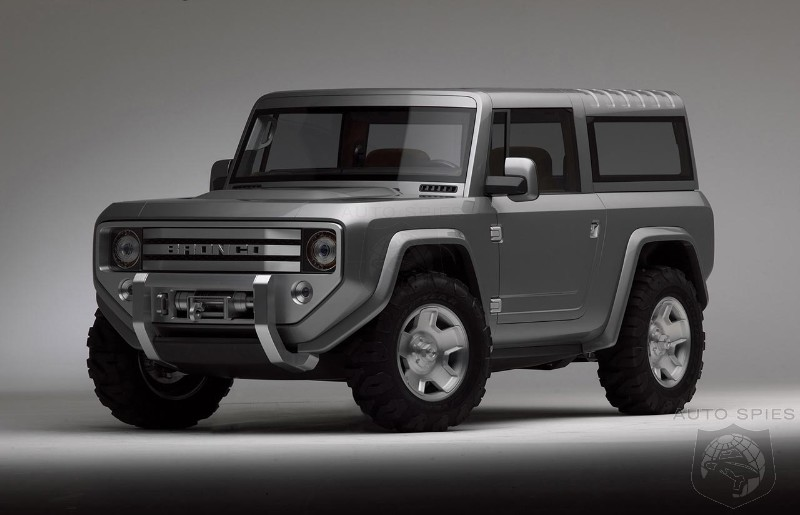 2020 Ford Bronco may come with a six- or seven-speed manual transmission from Getrag