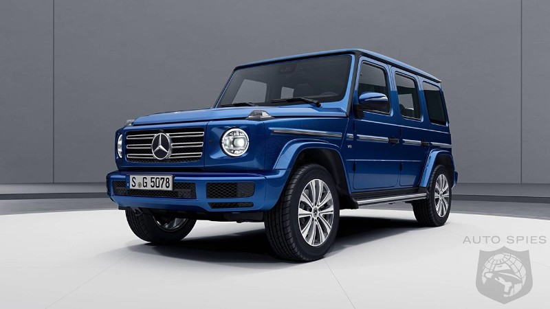 2019 Mercedes-Benz G-Class gets brighter with new Stainless Steel Package