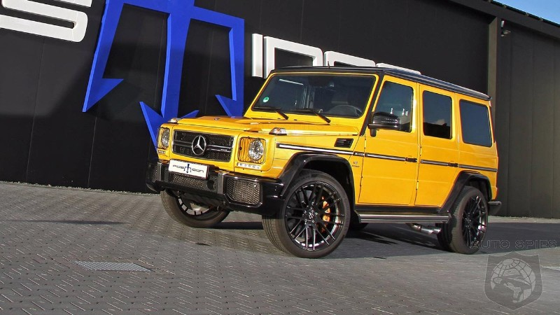 Posaidon boosts output of Mercedes-AMG G63 to 850 HP