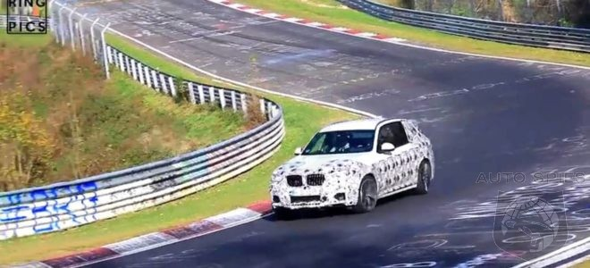 2018 BMW X3M Powerslide & Sound on Nürburgring Nordschleife!