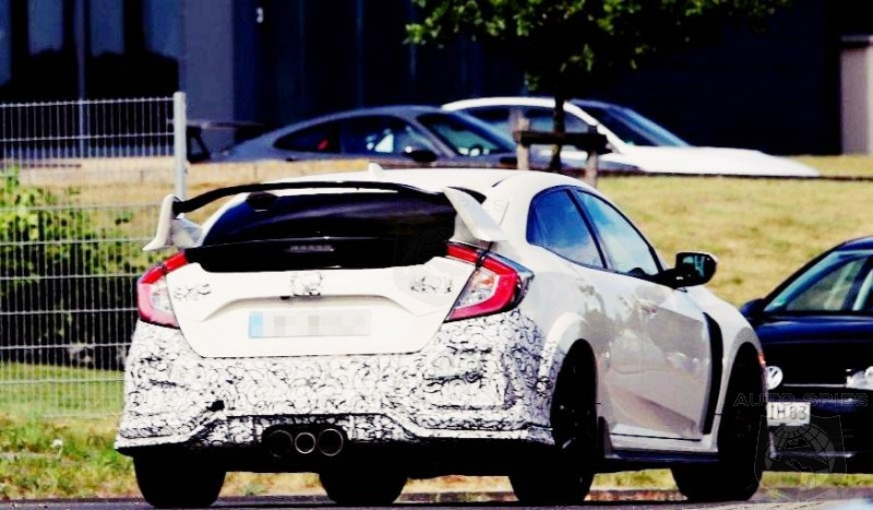 Honda Civic Type R Spied Likely a 2020 Model Year