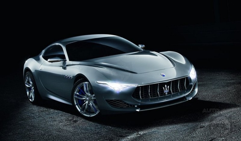 2017 Maserati Alfieri - The 3.0-liter twin-turbo V-6