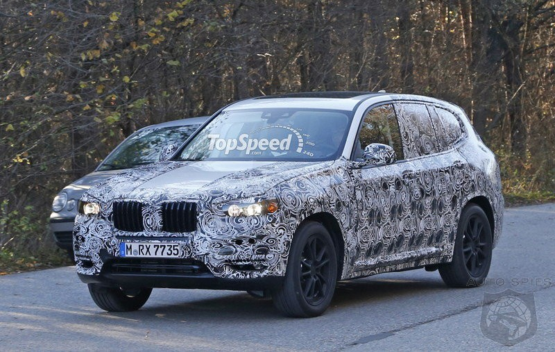 2018 BMW X3 - Shows More Skin In Latest Spy Shots