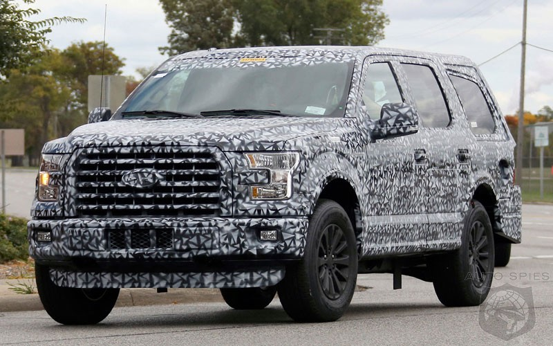 Upcoming Ford Expedition 2018 - Rumors, Spy Shots ...