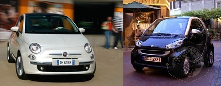 Smart Is Not Worried About Fiat 500