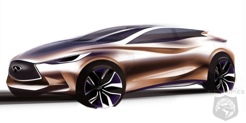 Infiniti Q30 Sketch Released, Will Compete with Mercedes-Benz CLA ...