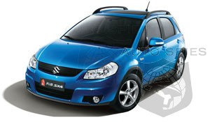Rumor: Volkswagen considering new model based on Suzuki SX4