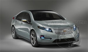 GM plans to build 10,000 Chevrolet Volts by the end of 2011, 30,000 more in 2012