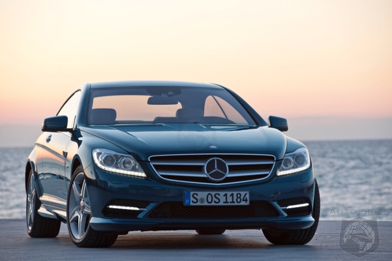 2011 Mercedes-Benz CL Facelift revealed