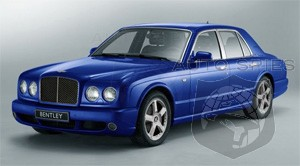 Upcoming Bentley Arnage to debut at Pebble Beach Concours d'Elegance