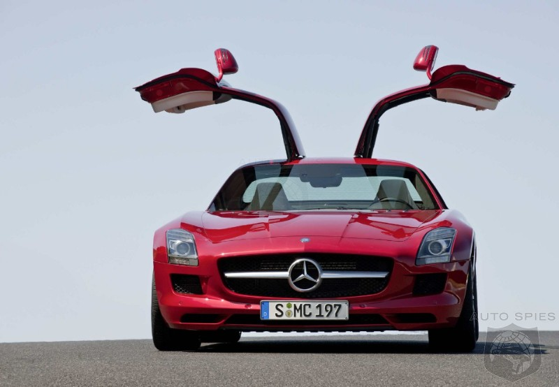 Whoa? A diesel SLS AMG in the works?