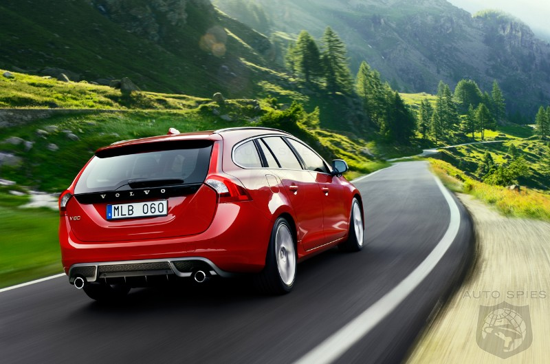 2011 Volvo S60 and V60 R-Design reveled ahead of Paris Motor Show