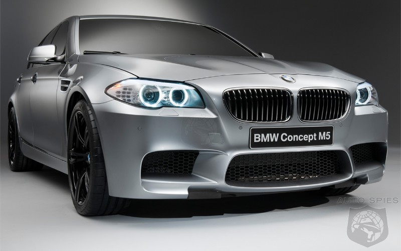 2012 Bmw M5 to receive all-wheel driver option