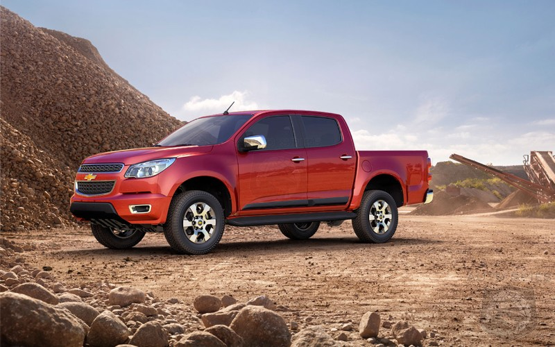 Report: GM Readies Lifestyle-Oriented Midsize Pickups