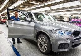 2014 Bmw X5 production kicks off