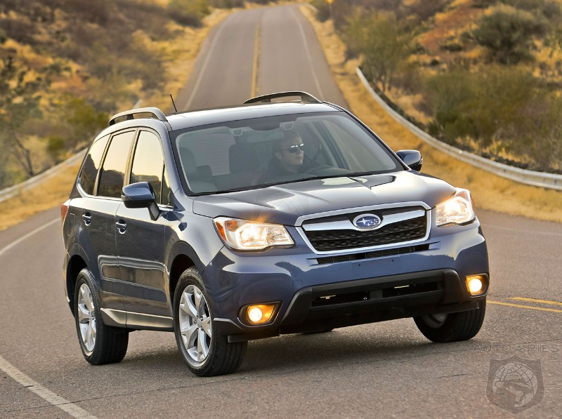 Subaru Forester Tops Honda CR-V in Consumer Reports SUV Review
