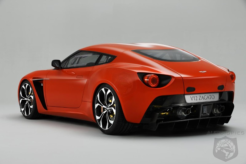 Aston Martin V Zagato Will Cost Over AutoSpies Auto News - Cost of an aston martin