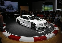 Bentley will offer a street legal Continental GT3