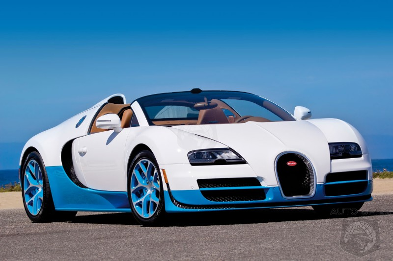 Bugatti working on a hyper version of the Veyron with 1600 hp