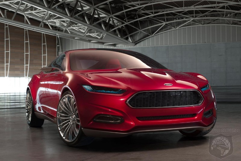 Ford Fusion Concept Coming To The Detroit Auto Show