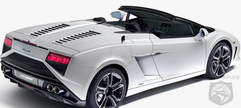 2013 Lamborghini Gallardo LP 560-4 Spyder breaks cover