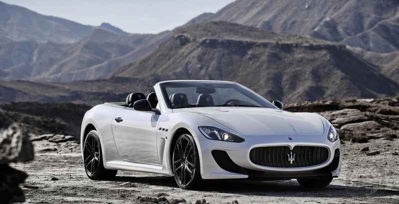 2013 Maserati GranCabrio MC Official Revealed
