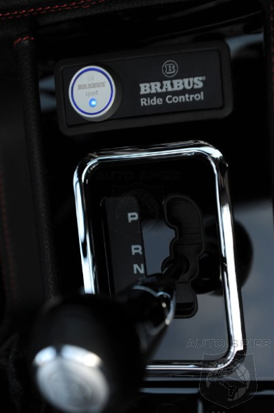 Mercedes G Class Ride Control Suspension by BRABUS