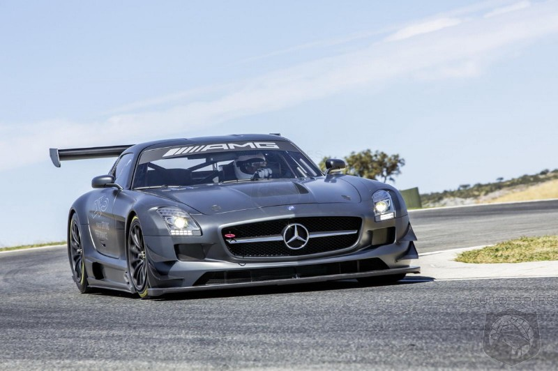 Mercedes-Benz SLS AMG GT3 45th Anniversary Announced