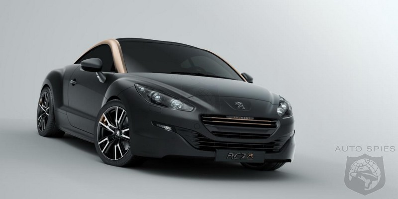 2013 Peugeot RCZ R Concept First Official Image